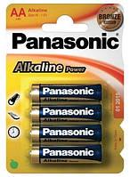 Аккумулятор щёлочный Panasonic аа lr6e 4шт.