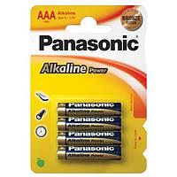 Аккумулятор щёлочный Panasonic aaa lr03e 4шт.