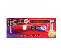 Клей c Yjanopan 2g быстросохнущий шов жесткий Profix