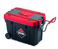 Пластиковая коробка для инструментов на колесах 90l Rubi
