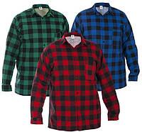 Рубашка клетчатая красная 17642