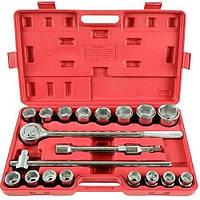 Ключи торцевые 3/4 6-гранные Silver 21 элемент EXSK02101