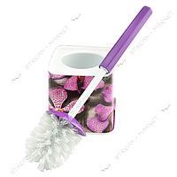 Ершик пластиковый (стакан ершик) 'Орхидея' фоторисунок Турция
