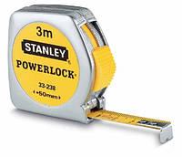 Мерная лента 3 м powerlock металлическая опора Stanley