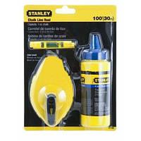 Шнур разметочный 30м + мел 115г Stanley