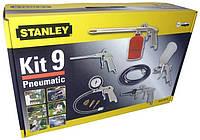 Покрасочный набор пневматический  9 элем. Stanley