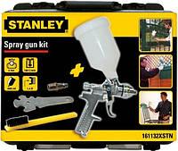 Покрасочный пистолет с верхним бачком, сопло 1,4 мм в чемодане stanley  Stanley