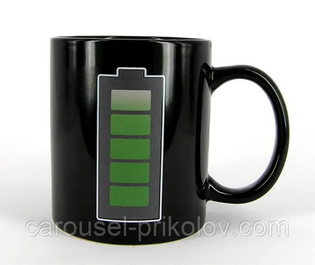Чашка-хамелеон батарейка