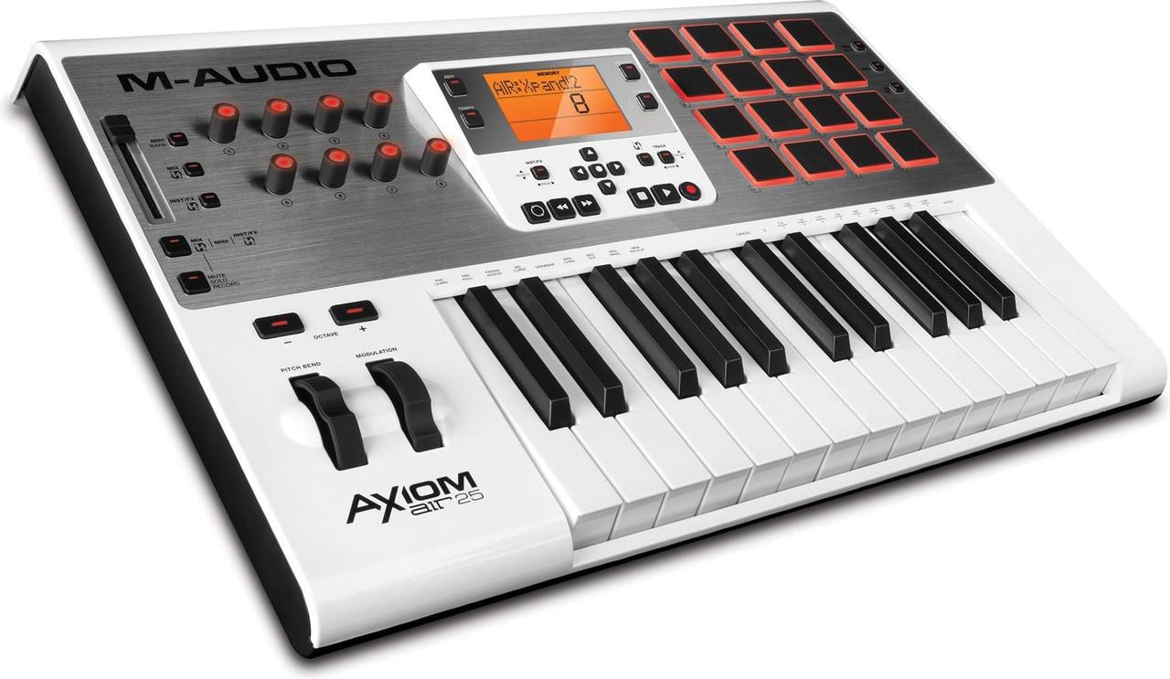 M-Audio  AXIOM AIR 25 - Надежный интернет-магазин  «Repka.UA» в Киеве