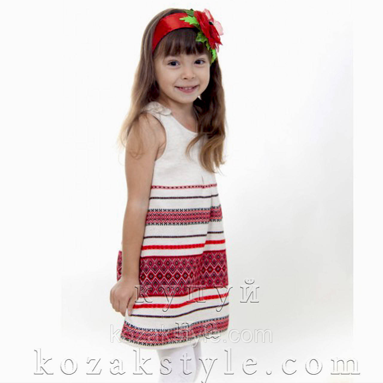 Український сарафан для дівчинки від 1 до 7 років