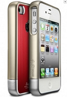 "Накладка SGP Case Linear ""Blitz"" Series Red for iPhone 4, 4S (SGP08339)"