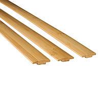 Бамбуковый молдинг стыковочный, светлый, фото 1