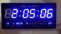 Настенные электронные часы LED Clock JH 4622, фото 1