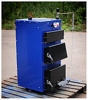 Котли твердопаливні БілЕко-10К на вугіллі, брикетах, дровах, фото 1