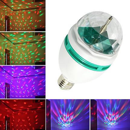 Лампа Led full color rotating lamp, фото 2