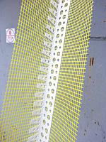Уголок арочный ПВХ с армирующей сеткой длина 2,5 м.п.