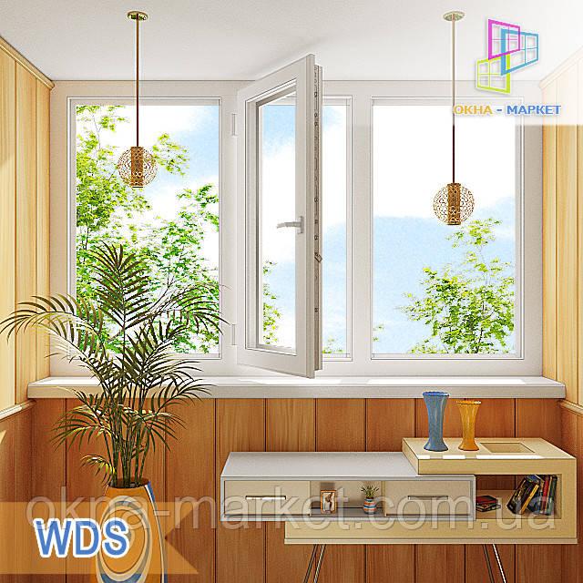 Трехчастная лоджия WDS Millenium, WDS 400, WDS 500, WDS 7 Series