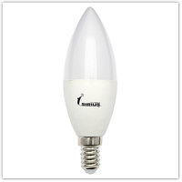 Светодиодная Лампа SIRIUS Е14-7W 4100К Свеча