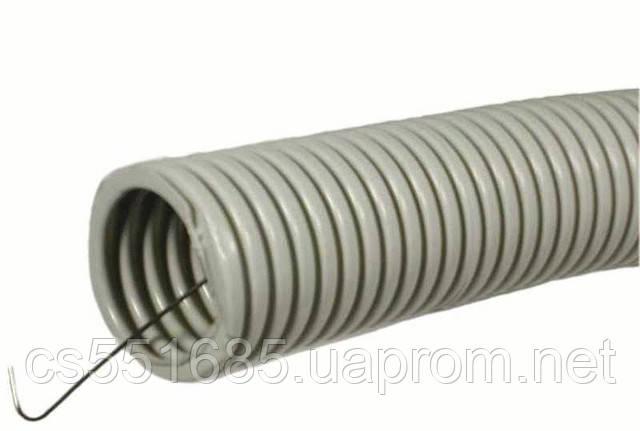 ∅ 16мм, бухта 100м Гофрированная труба (Гофротруба)