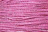 Канат декоративный 3мм (т) (50м) розовый
