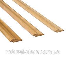 Бамбуковый молдинг кромочный, светлый