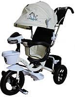 Детский велосипед трехколесный с ручкой Mars Mini Trike надувные с капюшоном LT960-2