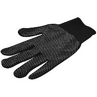Перчатки нейлоновые с ПВХ точкой, цвет ассорти, размер ХL
