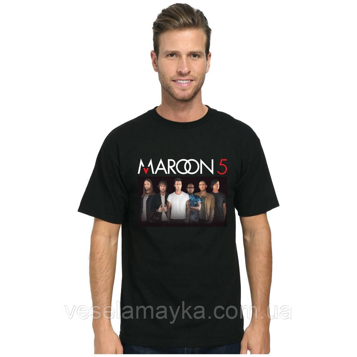 "Футболка ""Maroon 5"" 2"