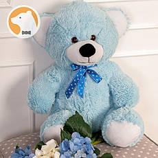 Плюшевый медвежонок Томми, 70 см, голубой
