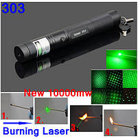 Лазерная указка Laser Pointer Laser 303, LASER GREEN , фото 6