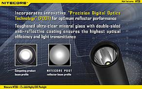 Фонарь Nitecore MT06 (Сree XQ-E R2, 165 люмен, 2 режима, 2хAAA), фото 2