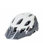 Шлем Green Cycle Enduro размер 54-58см бело-серый