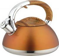 Bohmann Чайник 3,0л/мет св/ручка и корп.под дерево tp9959-BH