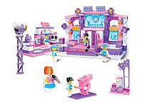 Конструктор розовая мечта - съемочная площадка, 430 деталей, sluban m38-b0255 kk