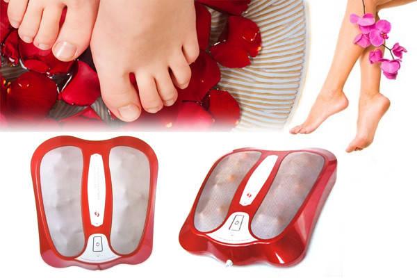 Инфракрасный роликовый массажер для ног Infrared Kneading Foot Massager , фото 2