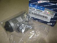 Цилиндр тормозной задний левый (производитель Mobis) 583303A000