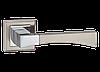 Дверные ручки MVM Z-1257 SN/CP - матовый никель/хром