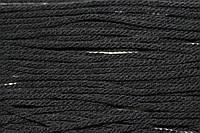 Канат декоративный акрил 2 мм (100м) черный, фото 1