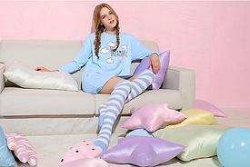Хлопковая ночная пижама