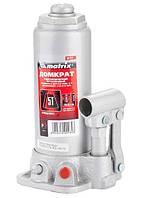 Домкрат гидравлический бутылочный, 5 т, h подъема 216–413 мм MTX MASTER (507219)