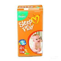 Подгузники  Pampers Sleep&Play Maxi (7-14 кг) ЕкономУпак50+Active Baby-Dry Maxi (7-14 кг) 3шт Зразок