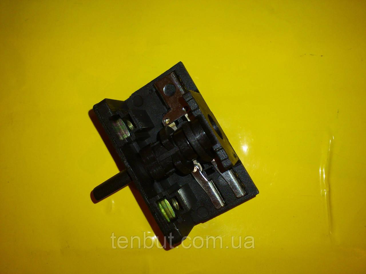Переключатель для электродуховок АС 201 клемы вниз производство Турция