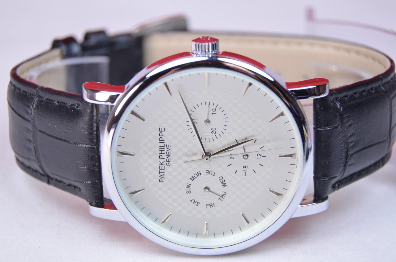 Мужские часы Patek Philippe Geneve ААА silver