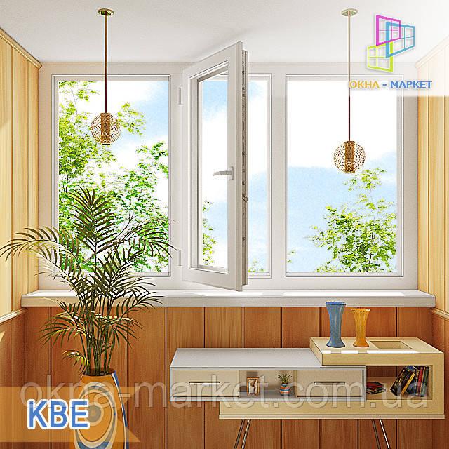 Цены на лоджии KBE Киев