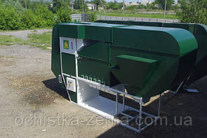 Попередня очистка зерна ІСМ-40 ЦОК