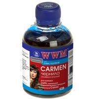 Чернила WWM CARMEN для Canon 200г Cyan Водорастворимые (CU/C) с расширенной совместимостью