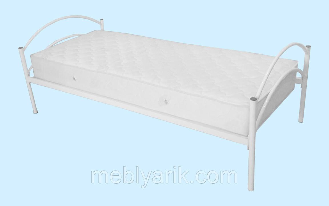 Кровать 1-спальная металлическая (метал. решетка) 1900х900