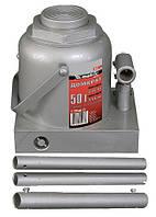 Домкрат гидравлический бутылочный, 50 т, h подъема 236–356 мм MTX MASTER (507379)