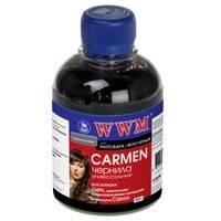 Чернила WWM CARMEN для Canon 200г Photo Black Водорастворимые (CU/PB) с расширенной совместимостью