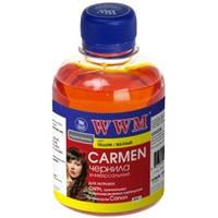 Чернила WWM CARMEN для Canon 200г Yellow Водорастворимые (CU/Y) с расширенной совместимостью